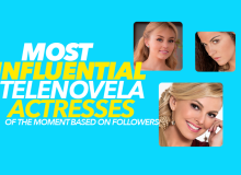 Most Influential Telenovela Actresses Of The Moment