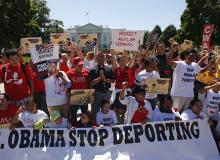 Immigration Protests, August 2014