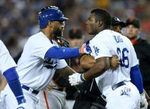 Dodgers Fight