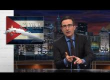 John Oliver Rips Apart America's Extension Of Cuban Embargo