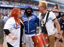 Wynonna Judd, Brian Wilson and Cactus Moser