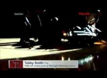 Texas Tech Coach Tubby Smith Crashes Motorcycle In Front Of 15,000 People!