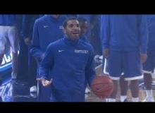 Watch Rapper, Drake, Shoot An Air Ball While Warming Up With Kentucky!