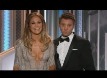 The Awkward Moment Jeremy Renner Told JLo She Had 'The Globes'
