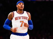 NBA Basketball Player Carmelo Anthony