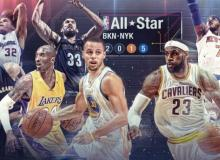 NBA ALL-STAR 2015'S Marquee of events from New York, FEB. 12-15