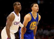 Chris Paul and Steph Curry
