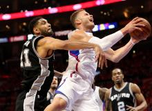 Blake Griffin vs Spurs Game 1