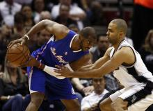 Chris Paul vs Spurs