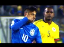 Watch Neymar Call Opponent And Referee A 'Son Of A Bitch!'