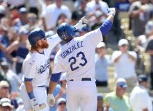 Adrian Gonzalez Game Winner