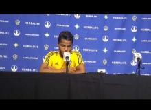 WATCH: Giovani Dos Santos Address The Media After An Impressive MLS Debut [English/Spanish]