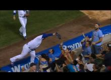 WATCH Anthony Rizzo Leap Into The Crowd To Make The MLB Catch Of The Year