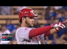 Reds Vs. Dodgers Highlights 8.13.15: Suarez Sets Career Highs In 10-3 Blowout [VIDEO]
