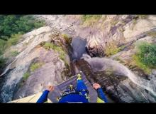 This Record Setting Cliff Jump Is The Most Insane Thing You'll Ever See