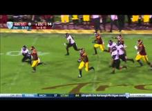 USC 55, Arkansas State 6 Highlights: Cody Kessler Throws 4 TD's in Rout of Red Wolves [VIDEO]
