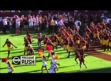 WATCH Will Ferrell Get Trampled By The USC Trojans Players