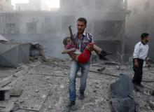 syrian civil war bombing