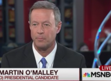 Martin O'Malley, Democratic Presidential Candidate