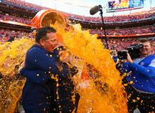 Gatorade Shower Celebration