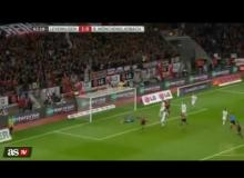 "Javier ""Chicharito"" Hernandez First Mexican Player to Score Hat Trick in Bundesliga"
