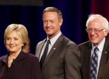 clinton sanders o'malley south carolina