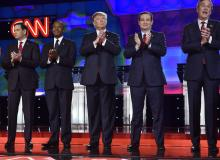gop debate 2016 rubio carson trump cruz bush