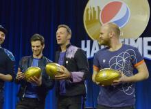 Coldplay Super Bowl Press Conference