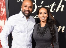 Derek Fisher and Gloria Govan