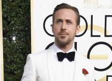 Ryan Gosling At The Golden Globes 2017