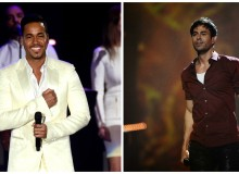 Romeo Santos and Enrique Iglesias