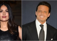 Salma Hayek and Luis Miguel