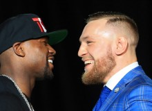 Floyd Mayweather Jr. and Conor McGregor