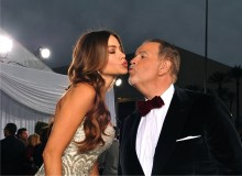 Raul de Molina and Sofia Vergara at the Latin Grammys