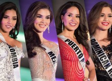 Miss Universe 2017 Evening Gown Photos
