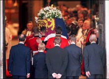 Princess Diana's Coffin