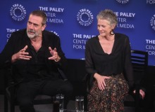 Jeffrey Dean Morgan and Melissa McBride