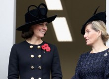 The Duchess of Cambridge and Countess of Wessex