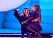 Mikey Foster and Ariana Grande
