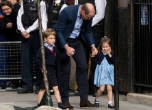 Prince George, Prince William and Princess Charlotte