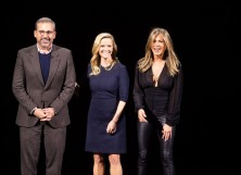 Steve Carell, Reese Witherspoon and Jennifer Aniston