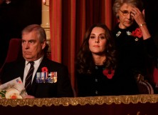 Prince Andrew and Kate Middleton