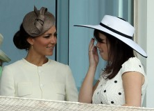 Kate Middleton and Princess Eugenie