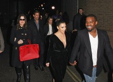 Khloe Kardashian, Scott Disick, Kourtney Kardashian, Kim Kardashian and Kanye West