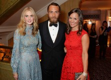 Donna Air, James Middleton and Pippa Middleton