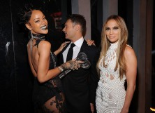 Rihanna, Ryan Seacrest and Jennifer Lopez