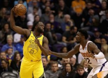 Draymond Green Warriors Deandre Ayton Suns