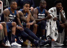 Robert Covington, Jeff Teague, Gorgui Dieng, Jordan Bell - Minnesota Timberwolves