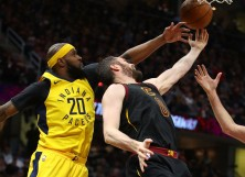 Kevin Love Cleveland Cavaliers Trevor Booker Pacers