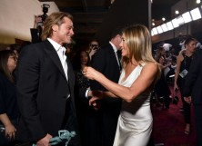 Brad Pitt Jennifer Aniston SAG Awards